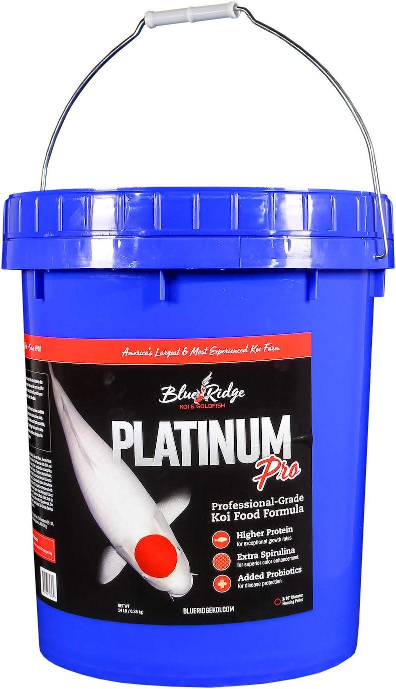 Blue Ridge Fish Food, Platinum Professional Formula 3/16