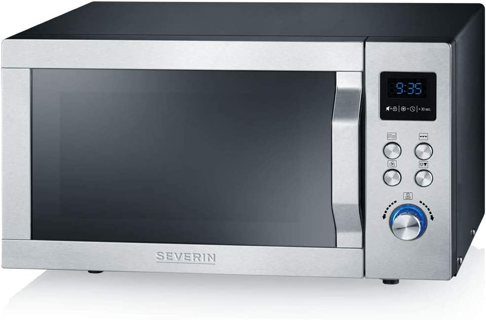 Severin MW 7755 - Microondas Inverter con grill y aire caliente 3 ...
