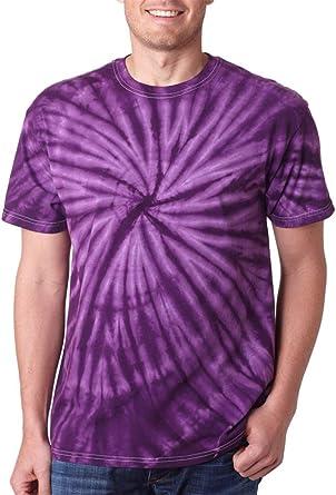 Purple Stripe T-shirts Adult S-3XL 100/% Heavyweight Pre-shrunk Cotton Colortone