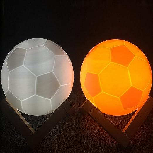 Ocamo Lámpara de futbolín con impresión 3D, doble color ...