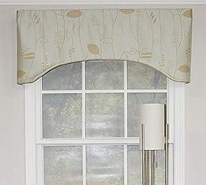 RLF HOME Mist Aquarelles Arch Window Dressings Valance