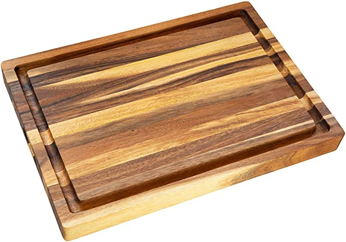 Wooden cutting chopping board made of beech wood very solid 10 inches 25 cm
