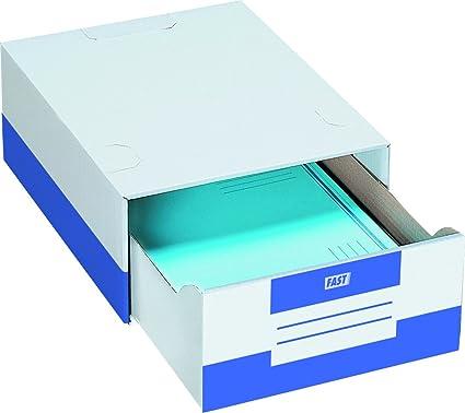 Elba 100725929 - Caja de 10 módulos de cajón, cartón microcanal ...