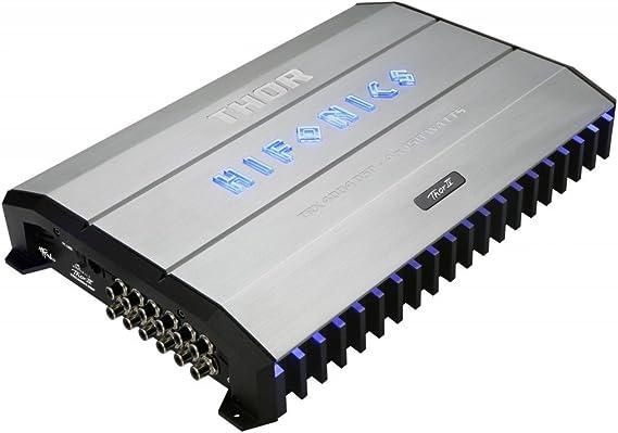 Hifonics 4 Kanal Endstufe Thor Dsp Amp Trx 4004dsp Mit Elektronik