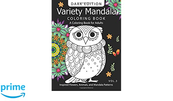 flower coloring book for adults vol 3 volume 3