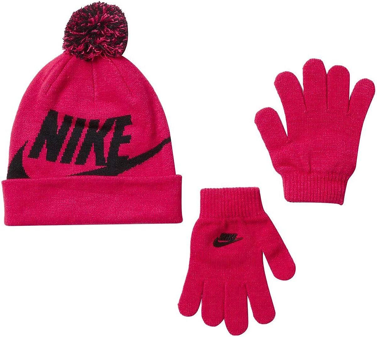 Genuine Winter Nike Kids Boys Girls Beanie Glove Set Warm One Size fits most