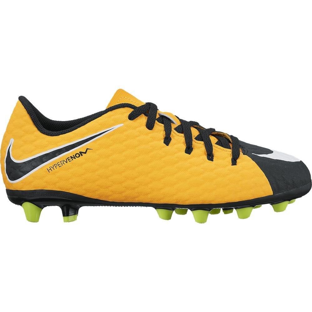 Kids' Nike Jr. Hypervenom Phelon III (AG-Pro) Kunstrasen Kinder Fußballschuh ORANGE