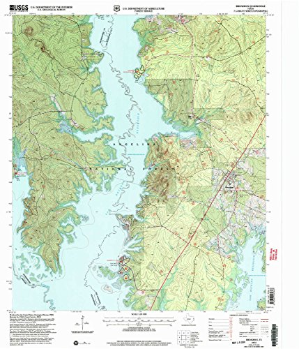 Broaddus TX topo map, 1:24000 scale, 7.5 X 7.5 Minute, Historical, 2003, updated 2004, 26.9 x 23.1 IN - - Salt Townsend