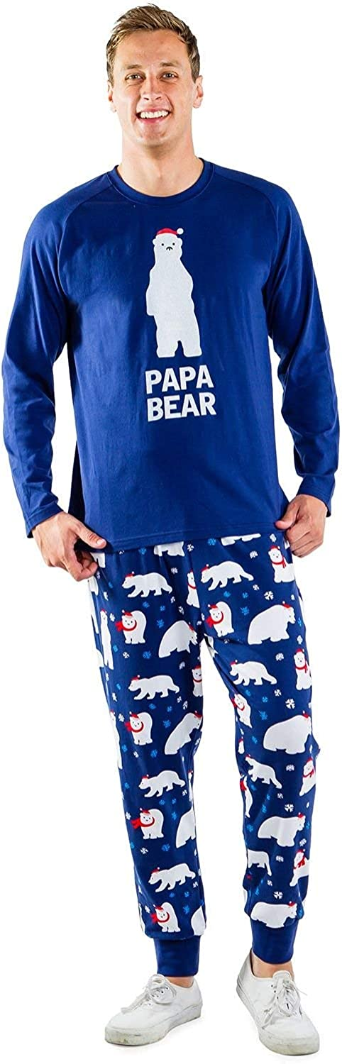 Matching Christmas Pajamas for Families - Polar Bear Holiday Pjs Matching