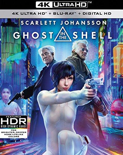 4K Blu-ray : Ghost in the Shell (With Blu-Ray, 4K Mastering, Digitally Mastered in HD, 2 Disc)