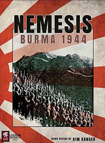 [해외]군단 전쟁 게임 다리: 천 적 버마 1944 보드 게임 / Legion Wargames LEG: Nemesis Burma 1944 Boardgame