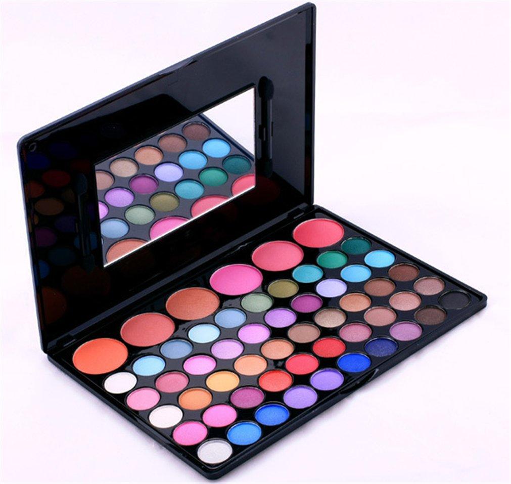 BrilliantDay set palette 56 colori per makeup cosmetici professionali, includ ombretti fard