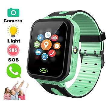 TKSTAR Kids Smart Watch with Camera Children LBS AGPS Realtime Worldwide Locator Anti Lost...