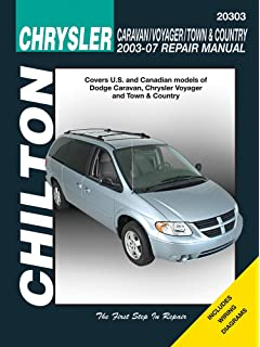 Dodge caravan chrysler voyager and town country 2003 thru 2007 chrysler caravan voyager town country 2003 2007 chiltons total car care fandeluxe Images