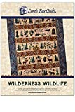 Lunch Box Quilts Wilderness Wildlife Applique Embroidery Quilt Pattern with Redemption Code and Backup CD for use with Embroidery Sewing Machines