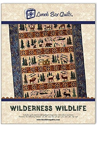 Lunch Box Quilts Wilderness Wildlife Applique Embroidery Qui