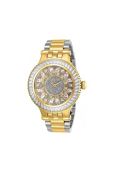 Invicta Subaqua Reloj de Mujer Cuarzo Correa y Caja de Acero 26156: Amazon.es: Relojes
