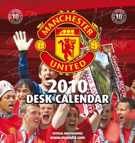 Official Manchester United FC 2010 Desk Easel Calendar