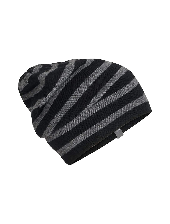 Amazon.com  Icebreaker Merino Stripe Slouch Beanie Cold Weather Hats ... e99c67d8484d