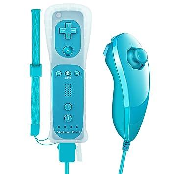 Mandos Motion Plus, Prous XW15 Nintendo Wii y Nunchuck con vibración integrada. Mando de