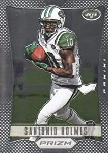 2012 Panini Prizm #134 Santonio Holmes NY Jets NFL Football Card NM-MT