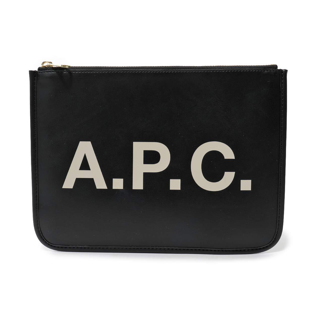 APC A.P.C. アーペーセー PUAAJ F63229 pochette morgane LZZ クラッチバッグ ポーチ NOIR ユニセックス / [並行輸入品] B07JW3ZM67