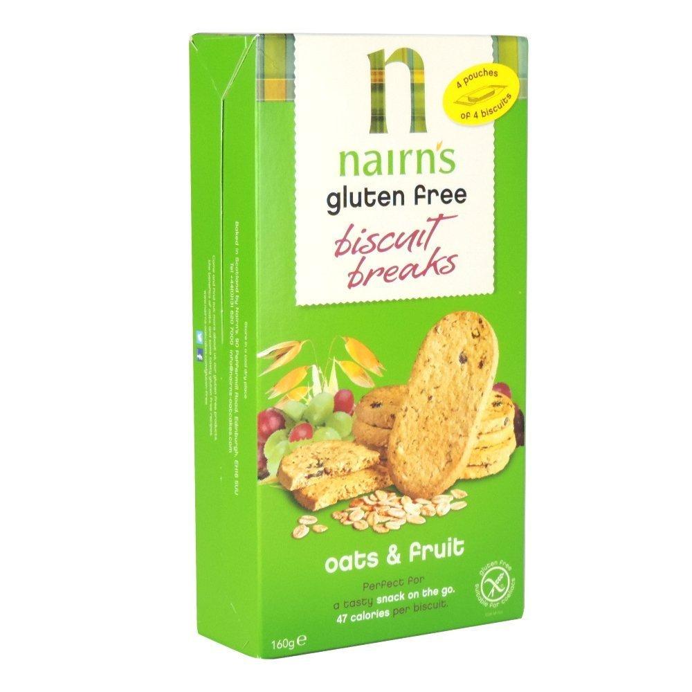 De Nairn Sin Gluten Galletas Breaks avena y fruta 160g ...