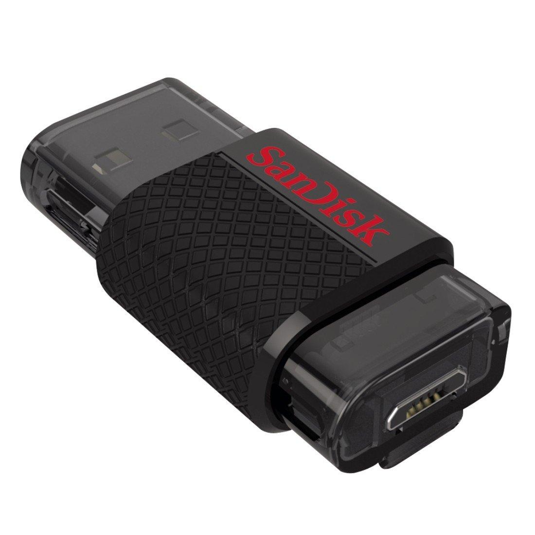 SanDisk Ultra Dual Chiavetta USB - Micro USB 16 GB SDDD-016G-G46 016gb 08 ChiaveUSB ChiavettaUSB Cruzer PenDrive SanDiskUltraDualUSBDrive16GB USBFlashDrive chiavette