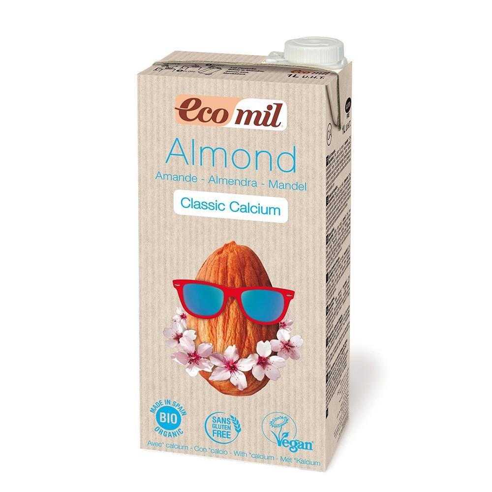 Ecomil - Leche De Almendra Classic Calcio Bio Ecomil 1L: Amazon.es: Hogar