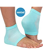 NatraCure Vented Moisturizing Gel Heel Sleeves (608-M CAT)