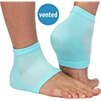 NatraCure Vented Moisturizing Gel Heel Sleeves (608-M CAT) by NatraCure