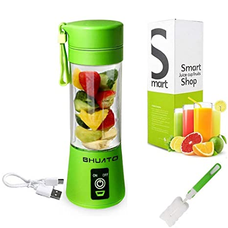 Amazon.com: Licuadora Portatil Batidora Smoothies Vaso ...