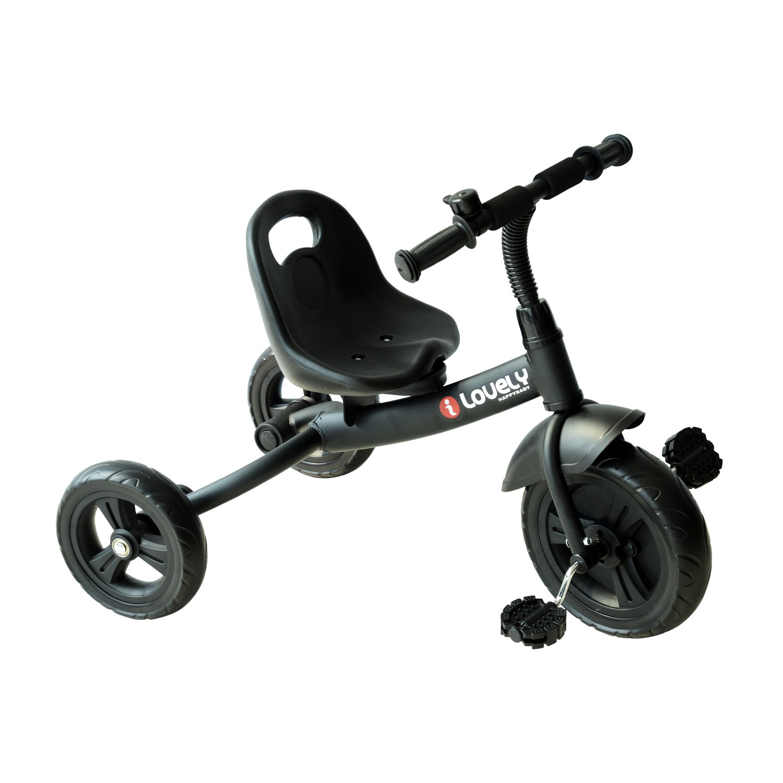 Triciclo para niños de más de meses con Timbre Guardabarros y Ruedas