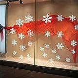 Honel クリスマスウォールステッカー 壁紙シール 雪の結晶ステッカー ガラス 壁 インテリア 子供部屋 店舗用 雰囲気満点 可愛い