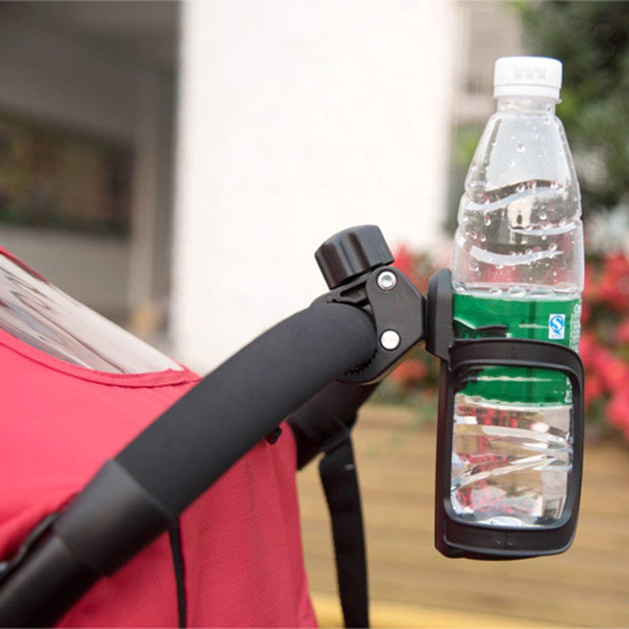 Baby Carriage Water Bottle Drink Cup Holder Motorcycle Bicycle Stroller Hanger