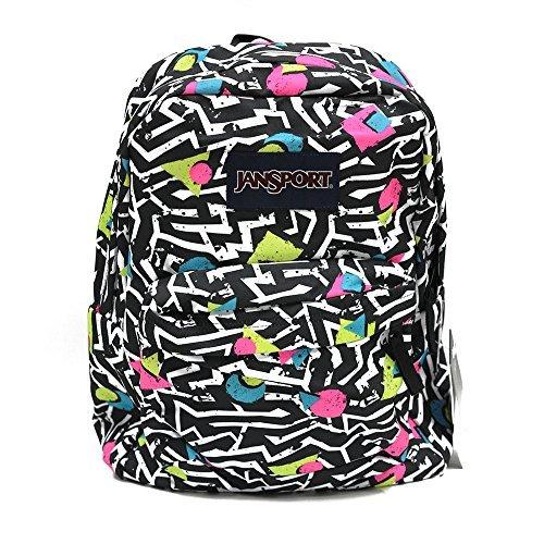 Price comparison product image Classic Jansport Superbreak Backpack (Black White Bebop (T5010EK))