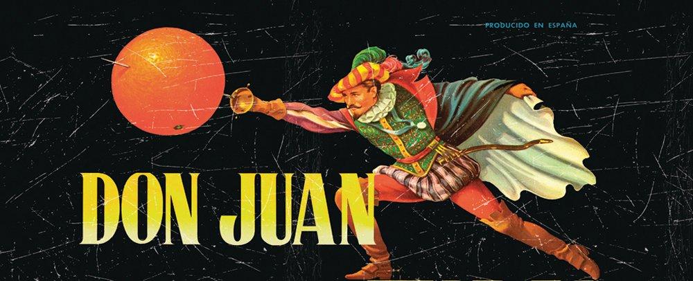 Don Juan Sport Silver Lamp Vintage Labels