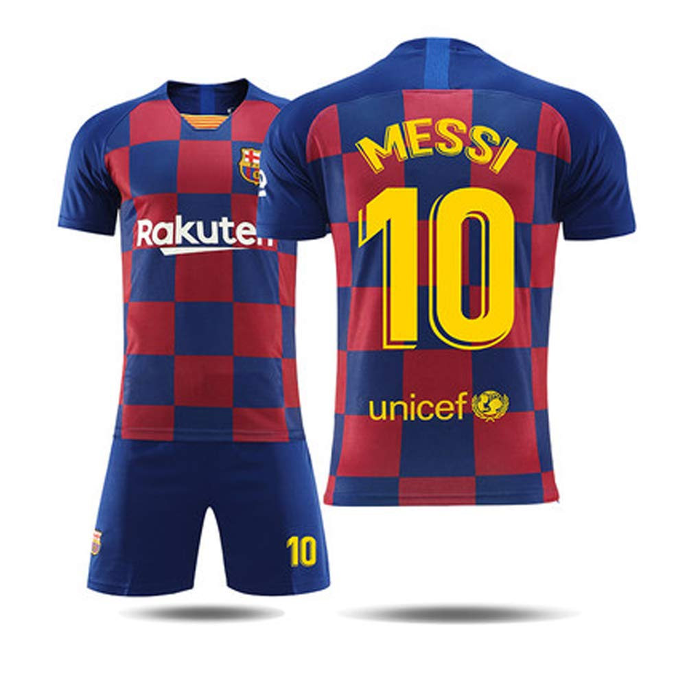 Sport Jersey Estuche de exhibici/ón Shadow Box para B/éisbol//F/útbol//Baloncesto//F/útbol//Hockey Jersey FNBA Maillot de f/útbol F/útbol Club # 10 Lionel Messi para Hombres