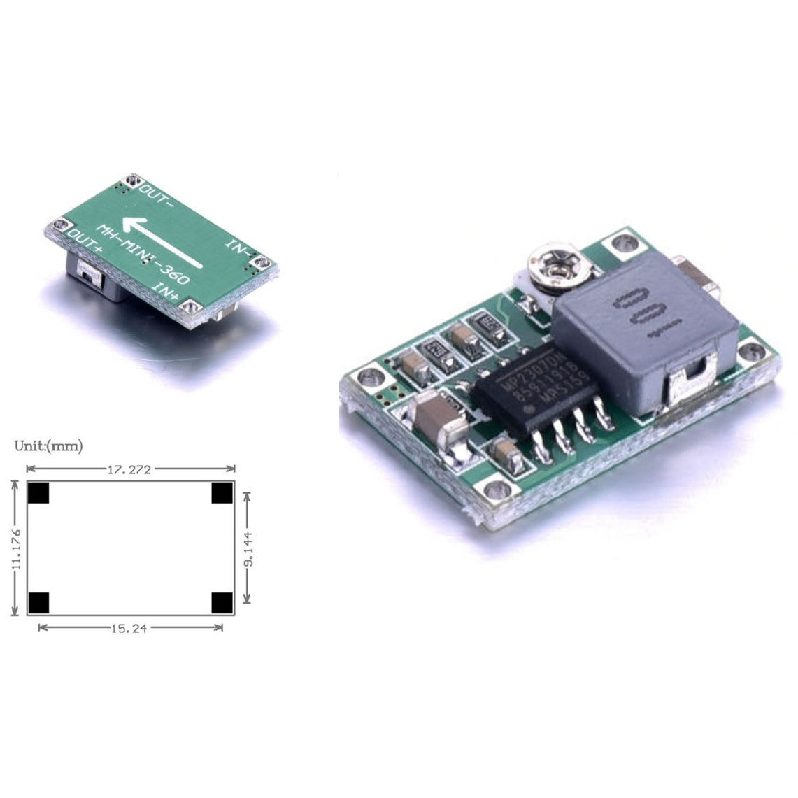 10pcs Jacobsparts Mini360 3a Dc Voltage Step Down Power High Efficiency Switch Mode 33v 5a Converter Buck Module 5v 9v 12v Home Audio Theater