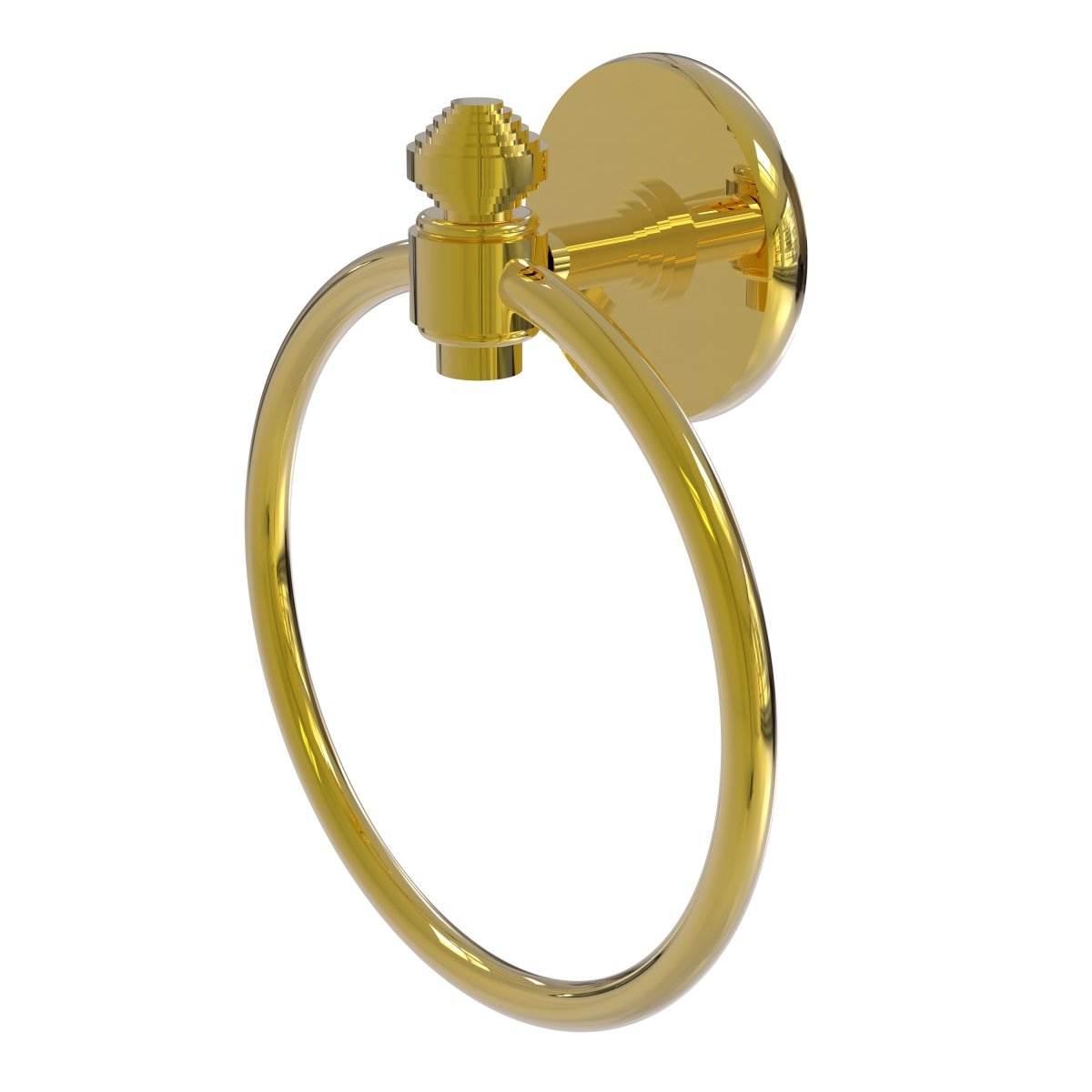 (Unlacquered Brass) Allied Brass South Beach Wall Mounted Towel Ring B06XB1HZWSラッカーなし真鍮