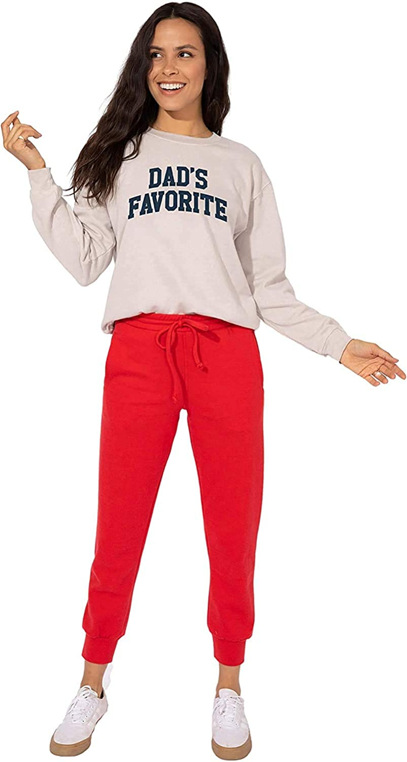 Sub/_Urban RIOT Womens Favorite Daughter Loose Fit Graphic Tee