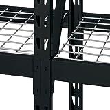 Sandusky Lee Muscle Rack ERZ772472WL3 Black Heavy