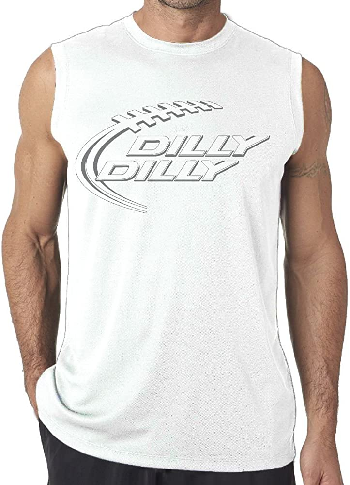 NRYDYMM Dilly Dilly Crown Artwork Tank Top Exercise Tank 100/% Cotton Bodybuilding Vest