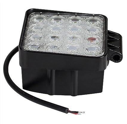 Leetop 10X 48W IP67 Lavoro LED Proiettore LED Offroad Luce Riflettore Proiettore Lavoro Luce SUV ATV UTV Lavoro Proiettore Aggiunta Proiettore Offroad Fanale 12V 24V Fanale Retromarcia