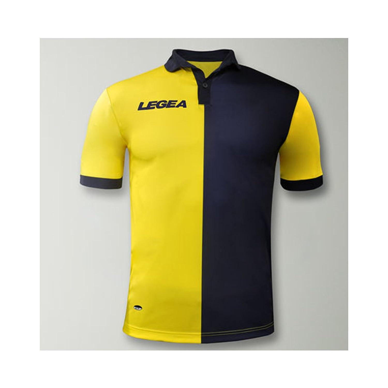 LEGEA Sardegna Gold - Camiseta de fútbol para Correr, Gimnasio ...