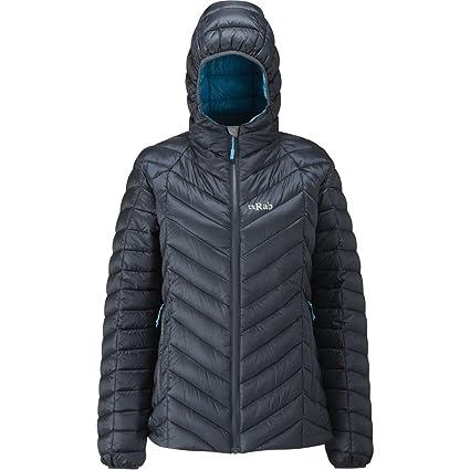 c14b722e Amazon.com: RAB Nimbus Jacket - Women's Ebony/Tasman XS/8: Sports ...