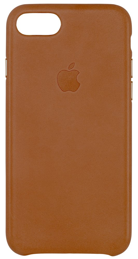 Apple Leather Case for iPhone 7 - Saddle Brown