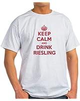 CafePress K C Drink Riesling Light T-Shirt - 100% Cotton T-Shirt