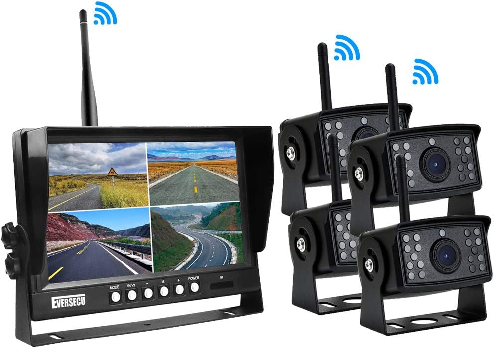 Eversecu Digital HD Wireless Car Backup Camera