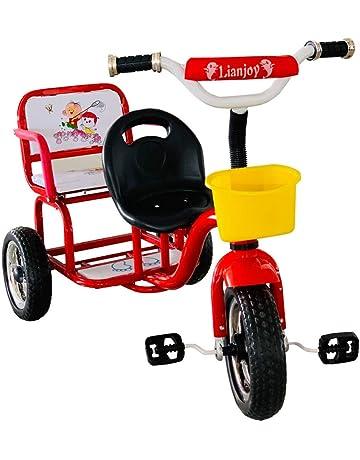 f833909c13f LovemyhomeDD Kids Tricycle Tandem Push Trike Bike Toddler Children Ride on Toy  3 Wheel
